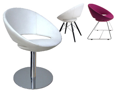 Charmant Orbit Is A Comfortable Spherical Chair That Will Project A Space Age Feel  Into A Dining Space. Limited Fabrics And Finishes Available.