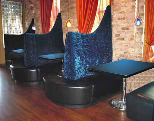 Commercial Banquettes amp Booths Curved Restaurant Booth