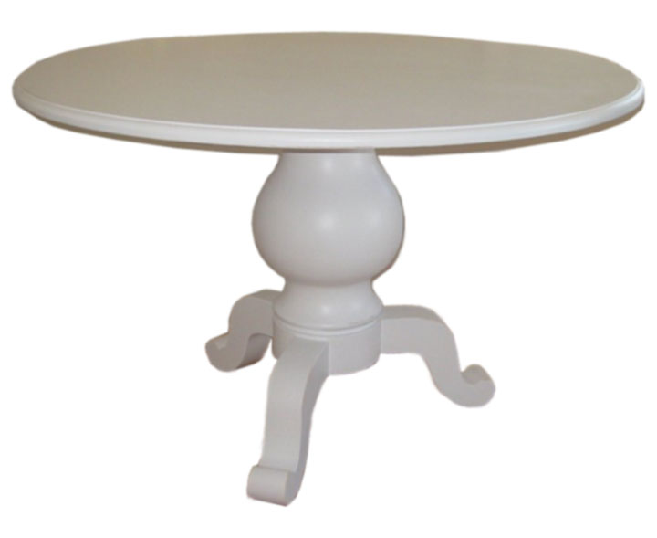 Alf Img Showing gt White Pedestal Dining Table