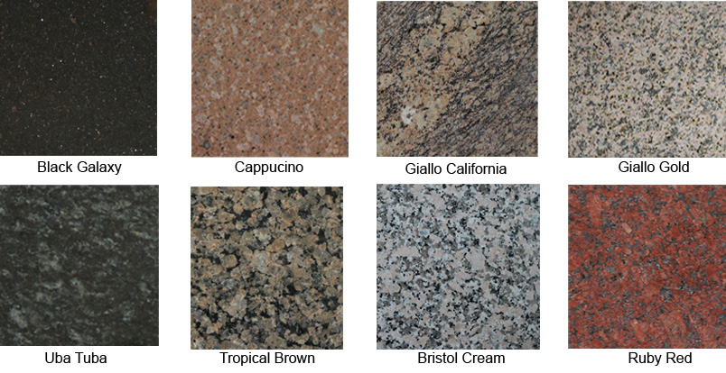 Granite Tabletops Available In Round, Square Or Rectangle. Custom Sizes  Available.